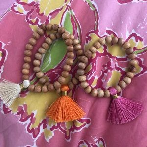 Jewelry - SET of 3 tassel bracelets